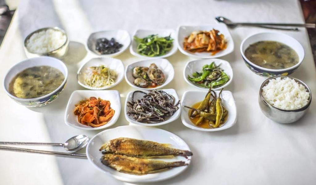 가야식당 백반 메뉴 [사진/성연재 기자]