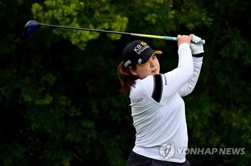 박인비, 올해 첫 대회 첫 1R 6 언더파 리더 … 김효주, 1 안타, 2 위