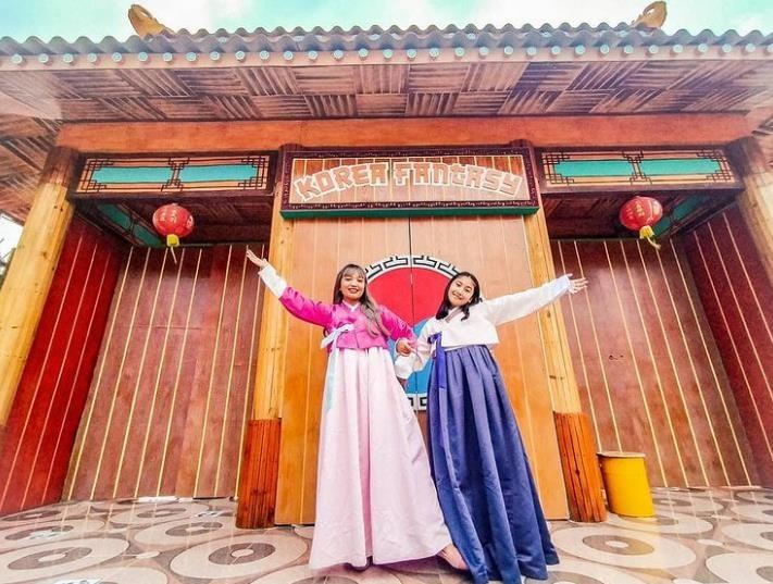 끄디리의 한국 마을 'Wisata Korea Fantasy'