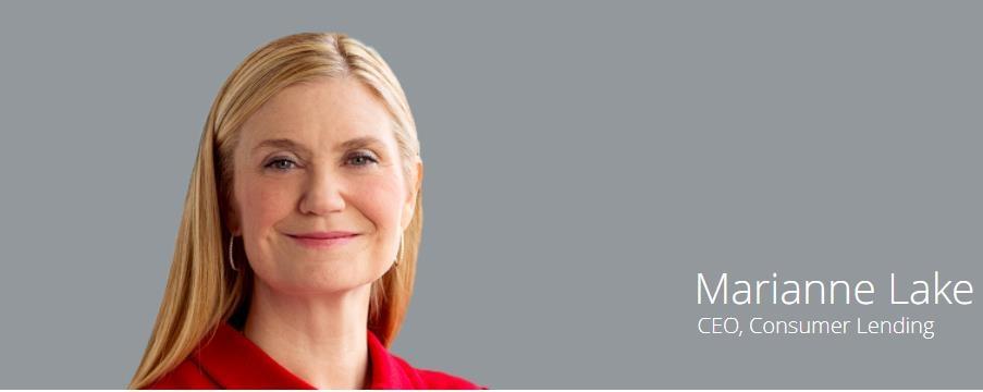 JP모건체이스 소매금융 공동 CEO로 승진한 메리앤 레이크