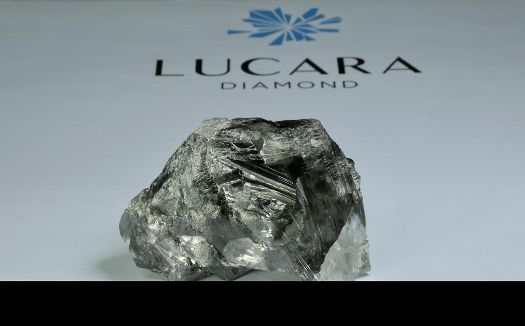 보츠와나에서 발견된 1천174캐럿 다이아몬드