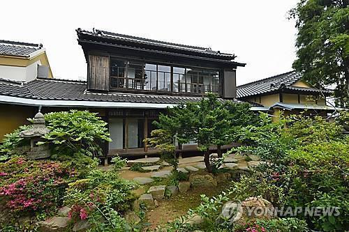 군산 신흥동의 일본식 가옥