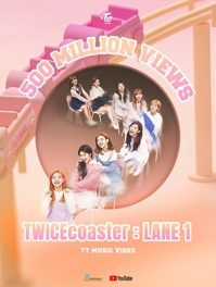 Un vídeo musical de TWICE supera los 500 millones de visualizaciones en YouTube