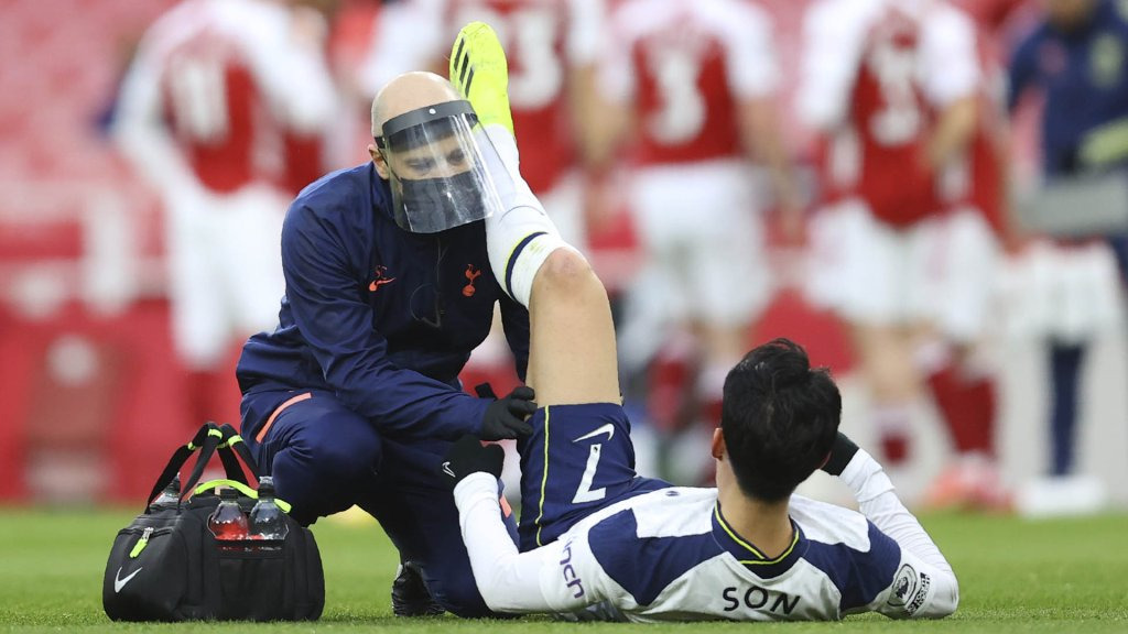 Football : Son Heung-min blessé aux ischio-jambiers contre Arsenal