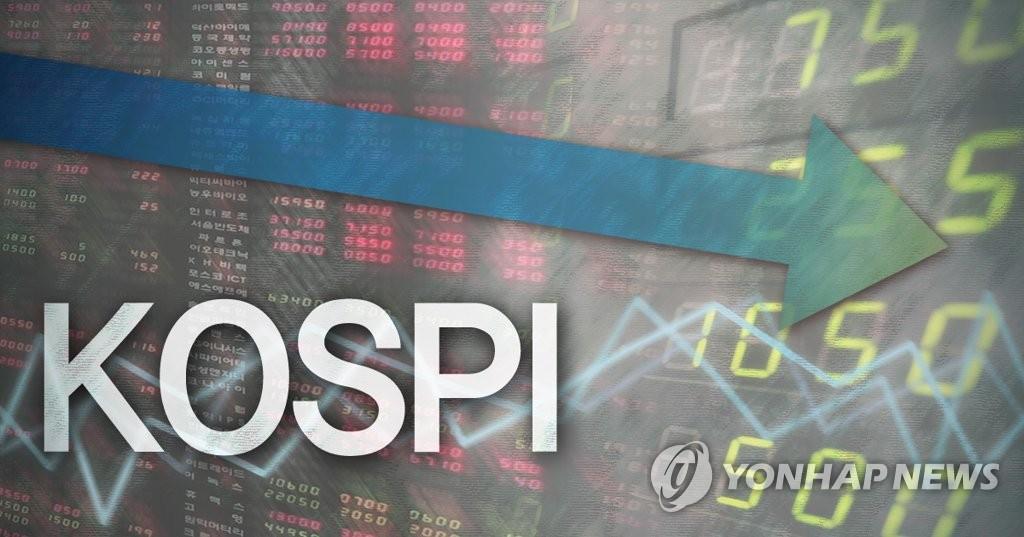 [코스피] 2.90p(0.14%) 내린 2,073.87(개장) | 연합뉴스