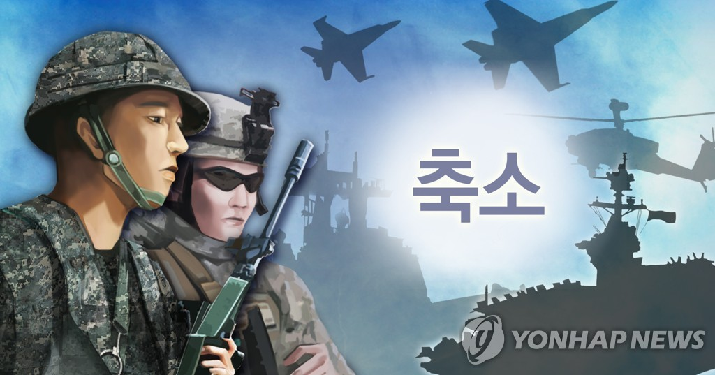 This image depicts South Korea-U.S. combined exercises. (Yonhap)