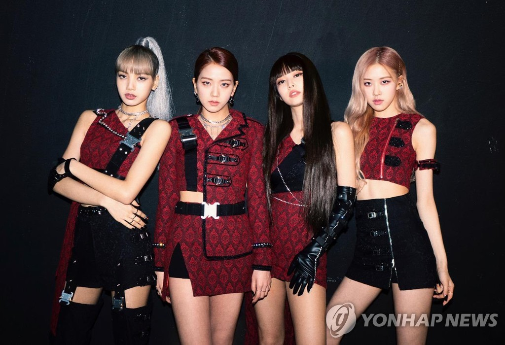 This photo of BLACKPINK was provided by YG Entertainment. (PHOTO NOT FOR SALE) (Yonhap)
