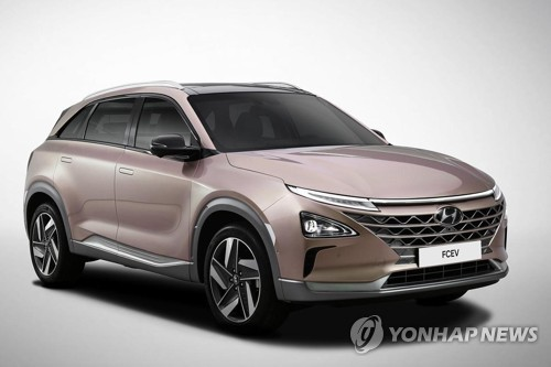 (LEAD) Hyundai opens 1st hydrogen-charging station for commercial cars