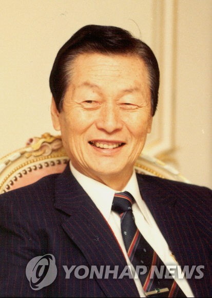 This file photo provided by Lotte Group shows Lotte Group founder and honorary chairman Shin Kyuk-ho. (PHOTO NOT FOR SALE) (Yonhap)