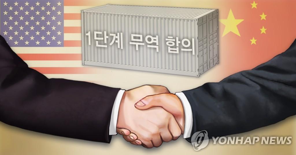 미중 1단계 무역합의 (PG)