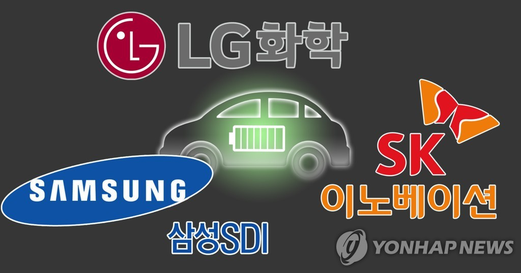 EVバッテリー市場で韓国勢のみプラス成長 LG化学が1位守る | 聯合ニュース