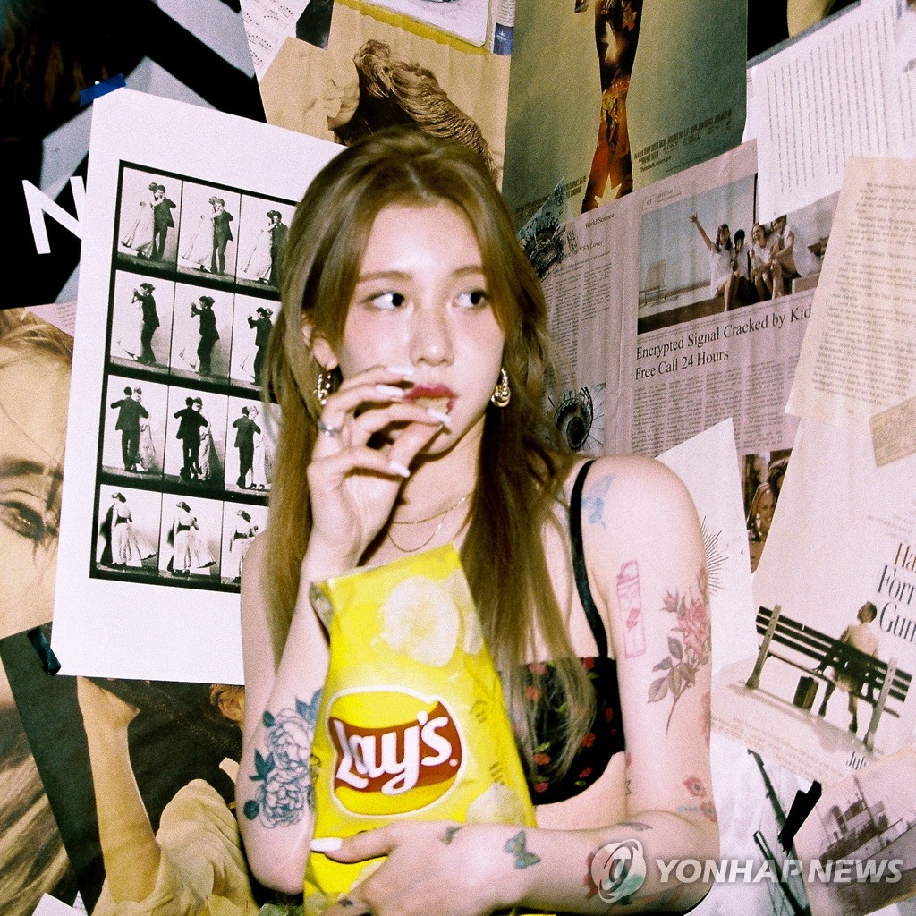 This photo, provided by the management agency Blue Vinyl, shows Baek Yerin, a popular female singer-songwriter in South Korea. (PHOTO NOT FOR SALE) (Yonhap)