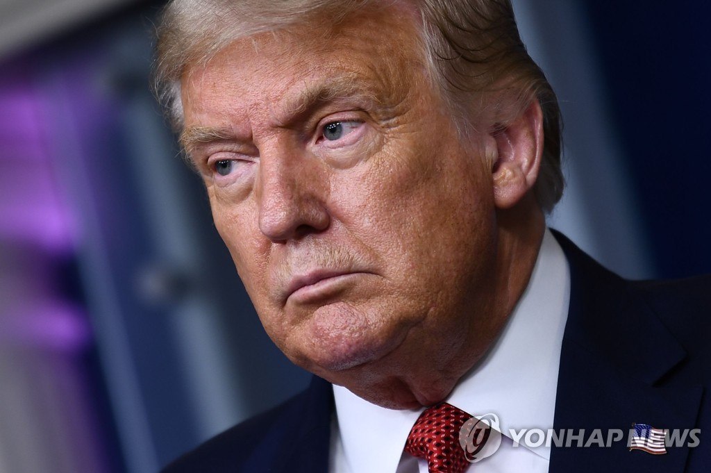 This AFP file photo shows U.S. President Donald Trump. (Yonhap)
