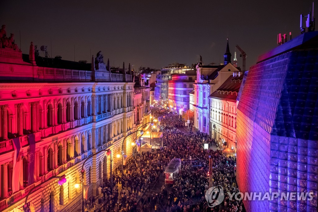 CZECH REPUBLIC PROTEST VELVET REVOLUTION
