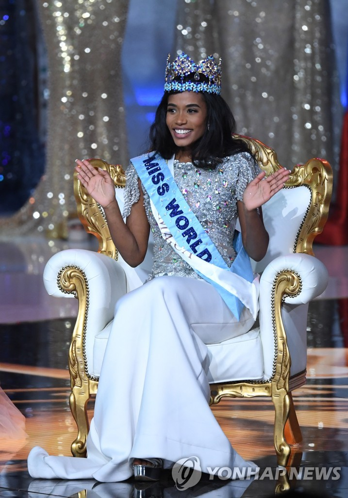 BRITAIN MISS WORLD FINAL 2019