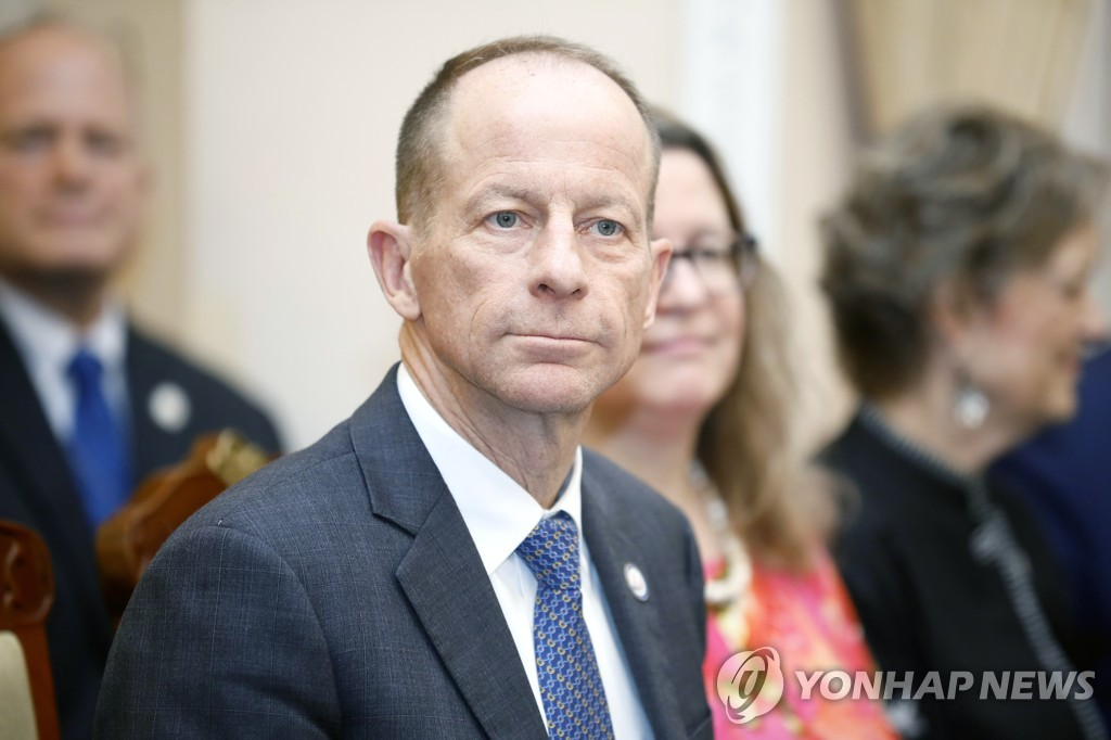 This EPA file photo shows U.S. Assistant Secretary of State for East Asian and Pacific Affairs David Stilwell. (Yonhap)