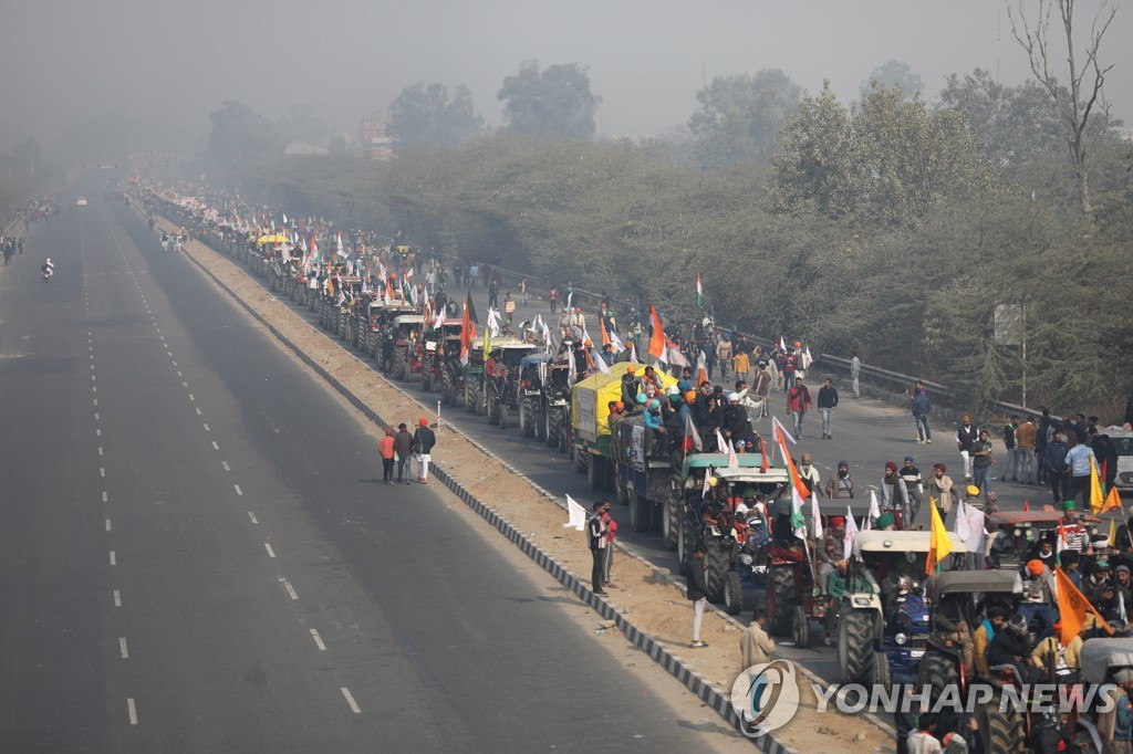 INDIA FARMERS PROTESTS