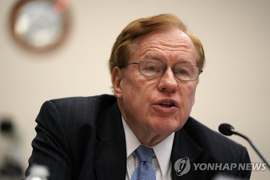 This AFP file photo shows former U.S. Special Envoy for North Korean Human Rights Issues Robert King. (Yonhap)