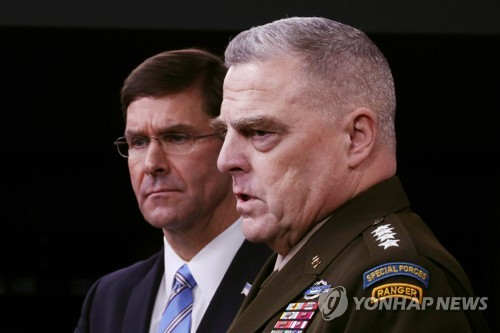 U.S. JCS chairman addresses questions about troop presence in S. Korea, Japan
