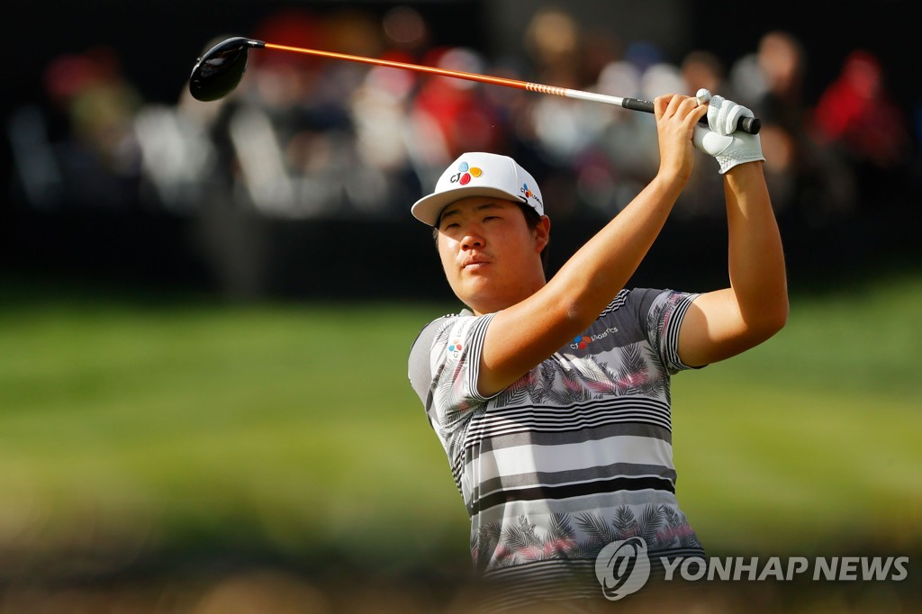 In this Getty Images photo, Im Sung-jae of South Korea is in action during the final round of the Arnold Palmer Invitational Bay Hill Club & Lodge in Orlando, Florida, on March 8, 2020. (Yonhap)