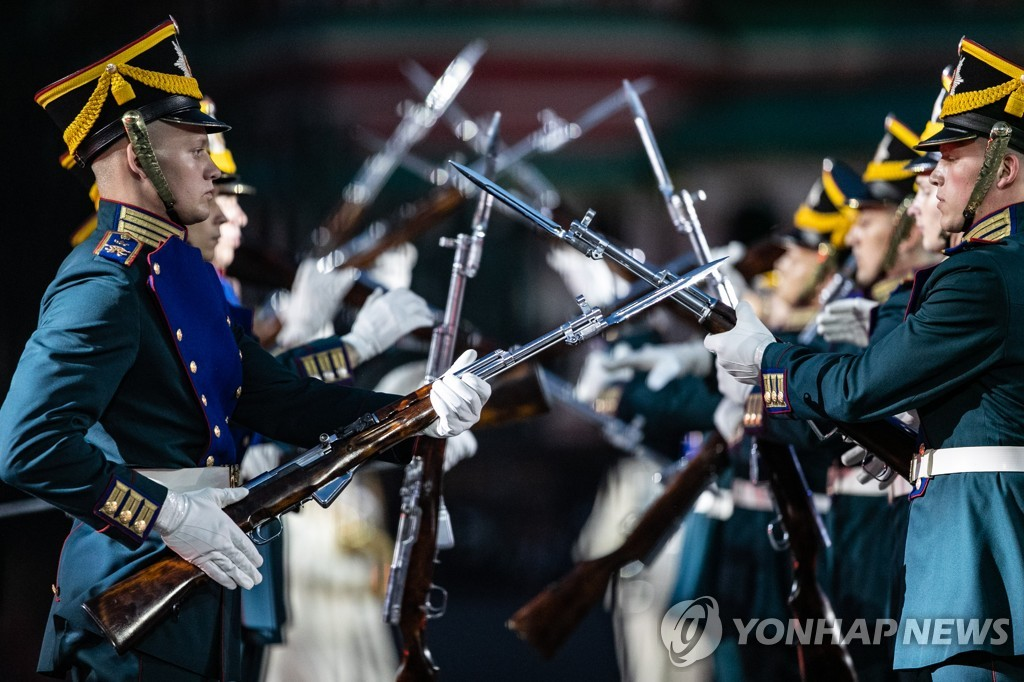 RUSSIA-MOSCOW-MILITARY MUSIC FESTIVAL-OPENING
