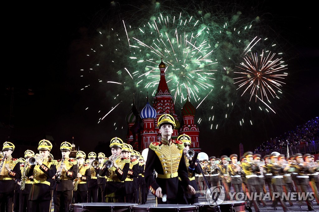 RUSSIA-FESTIVAL/MILITARY BANDS