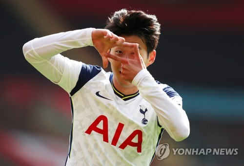 Son-sational: Tottenham's Son Heung-min explodes for 4 goals