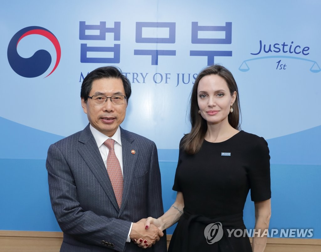 Angelina Jolie Makes Her Special Envoy Debut In Front Of The UN In New York images