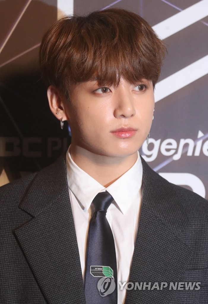 This file photo taken Nov. 6, 2018, shows Jungkook of BTS. (Yonhap)