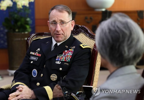 (2nd LD) Top U.S. military commanders for Korea to brief Congress
