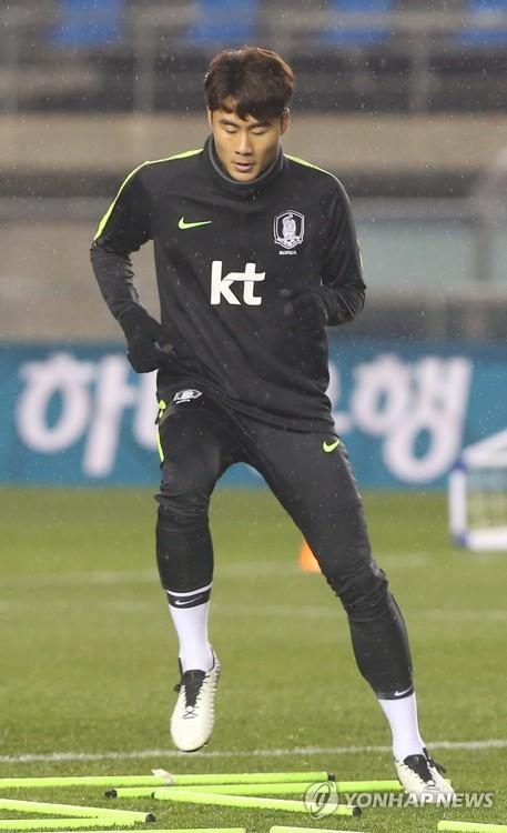 지난해 12월 대표팀 소집 훈련 당시 박지수
