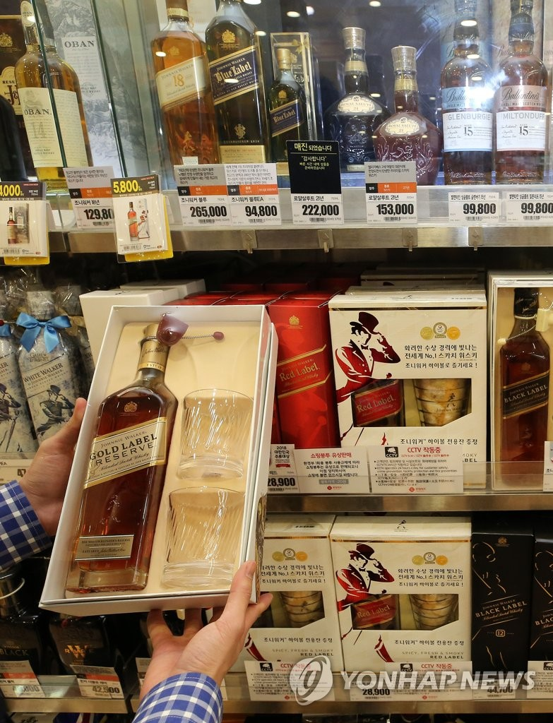 Whiskey sales decline for 10th straight year in 2018
