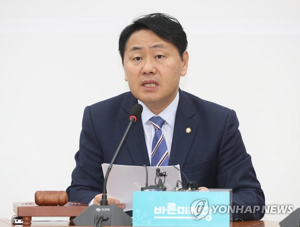 바른미래당 김관영 원내대표 [연합뉴스 자료사진]