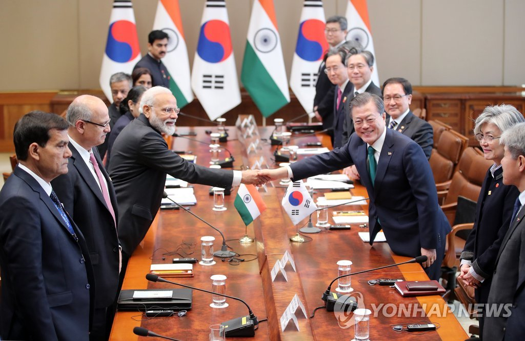 S. Korea-India summit