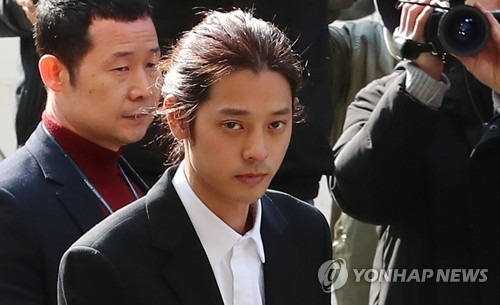 (LEAD) Singer Jung Joon-young quizzed in sex video probe