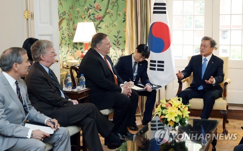 (3rd LD) Moon emphasizes need to continue U.S.-N. Korea dialogue