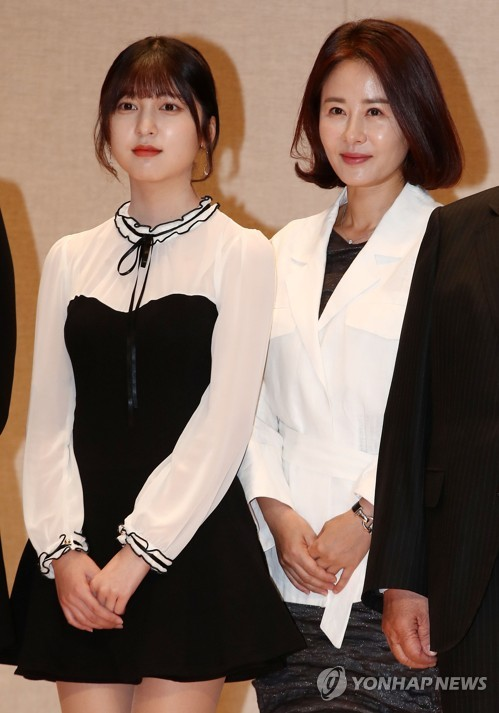 Actresses Jeong and Ahn