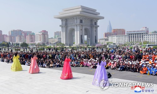 May Day in N. Korea