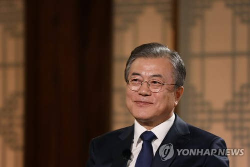 Moon resumes overtures to Japan, hopes for N.K. leader's participation in ASEAN summit