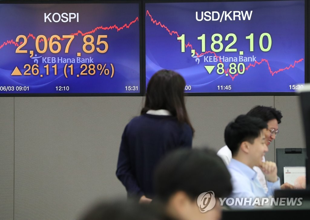 Foreigners become net sellers of S. Korean stocks in May - 1