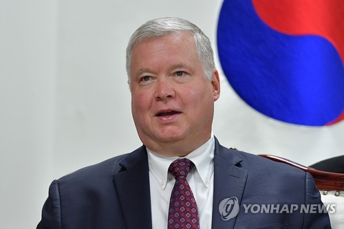 Biegun to meet S. Korea's deputy presidential security adviser over N.K. nuke talks