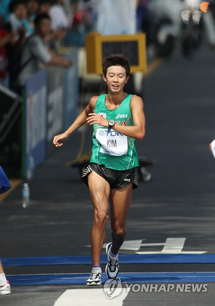S. Korea's first IAAF World Championships medalist