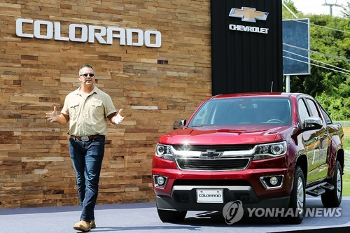GM Korea launches pickup truck