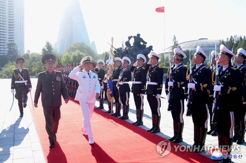 N.K.-China military talks