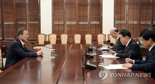 Moon urges effective internal probe for disciplinary measures against prosecutors