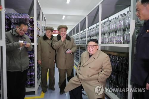 김정은, 6개월 만에 삼지연군 건설현장 시찰