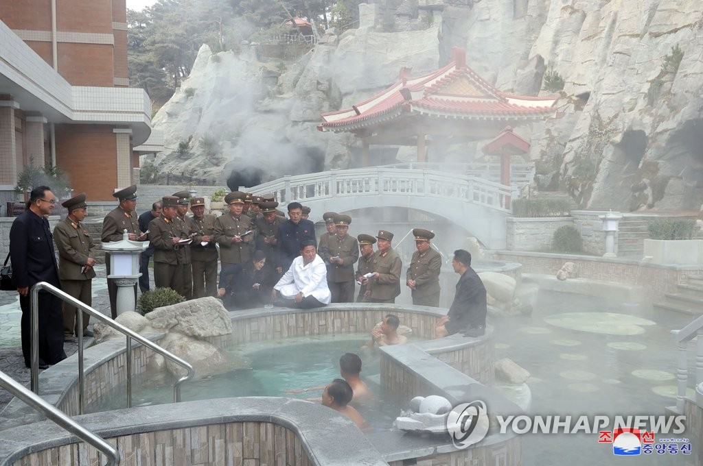 N. Korea's Yangdok spa resort begins operations