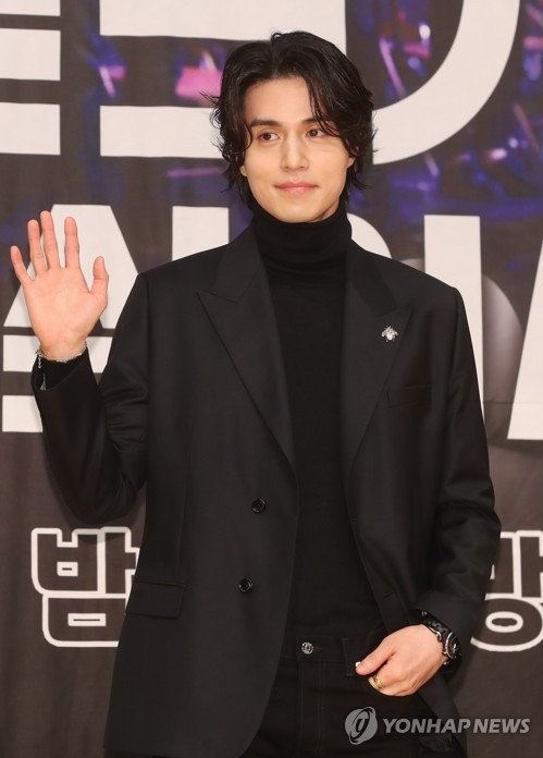 S. Korean actor Lee Dong-wook
