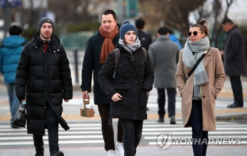 Coldest weather of season to grip Seoul, surrounding region Thursday