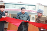 N.K. leader celebrates completion of spa resort